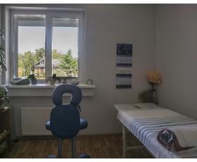 Palangos klinikos masažo kabinete